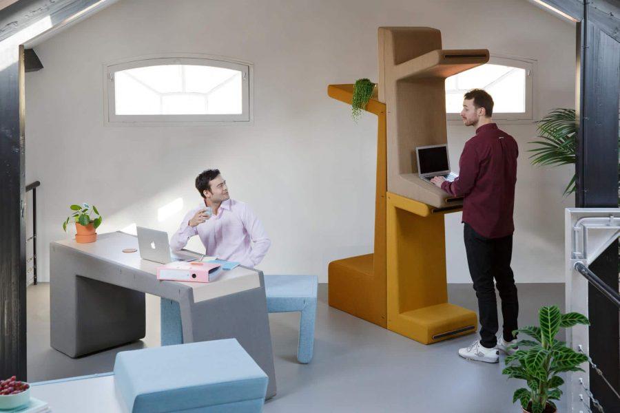 Prooff Workspace furniture BeTween design by Studio Makkink Bey 1 WEB