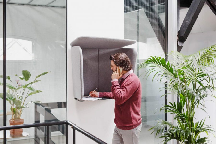Prooff Workspace furniture PhoneBox design by AXIA Design 1 WEB