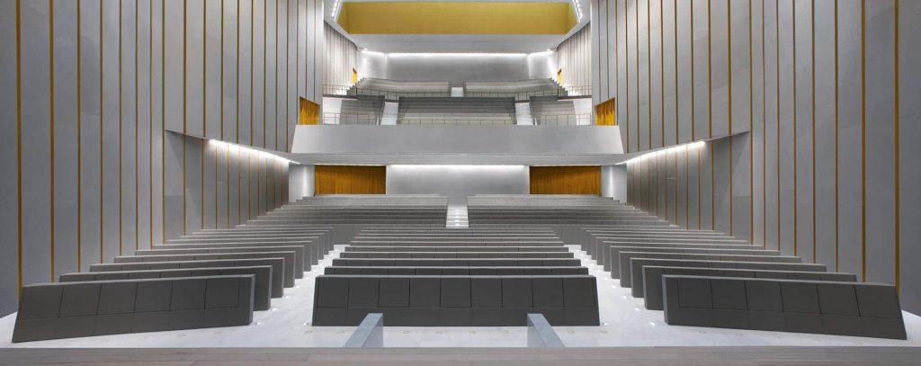 Universita Bocconi Milano GENYA Armchair By LAMM 1 e1565681970509
