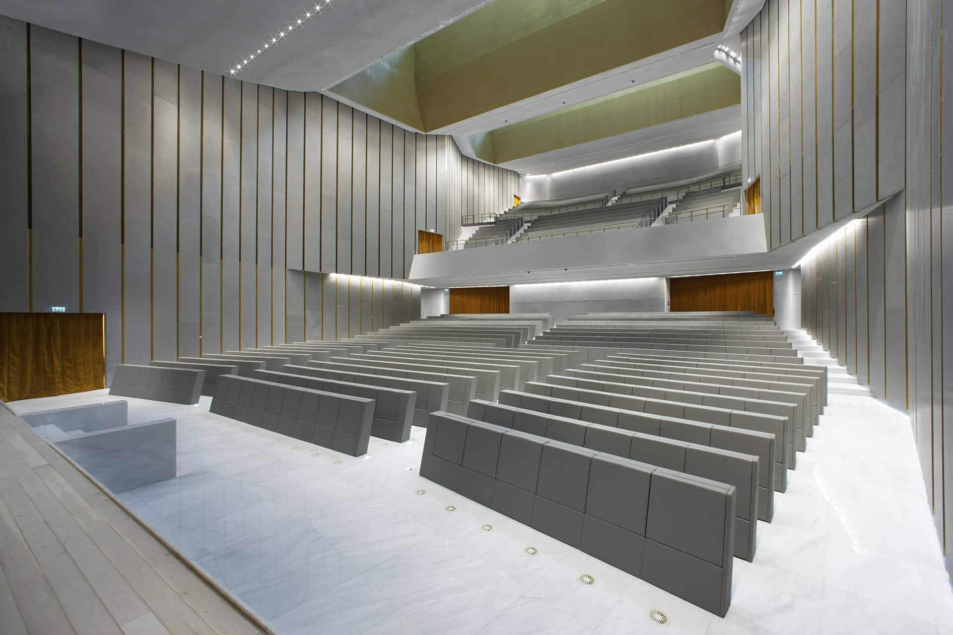 Universita Bocconi Milano GENYA Armchair By LAMM
