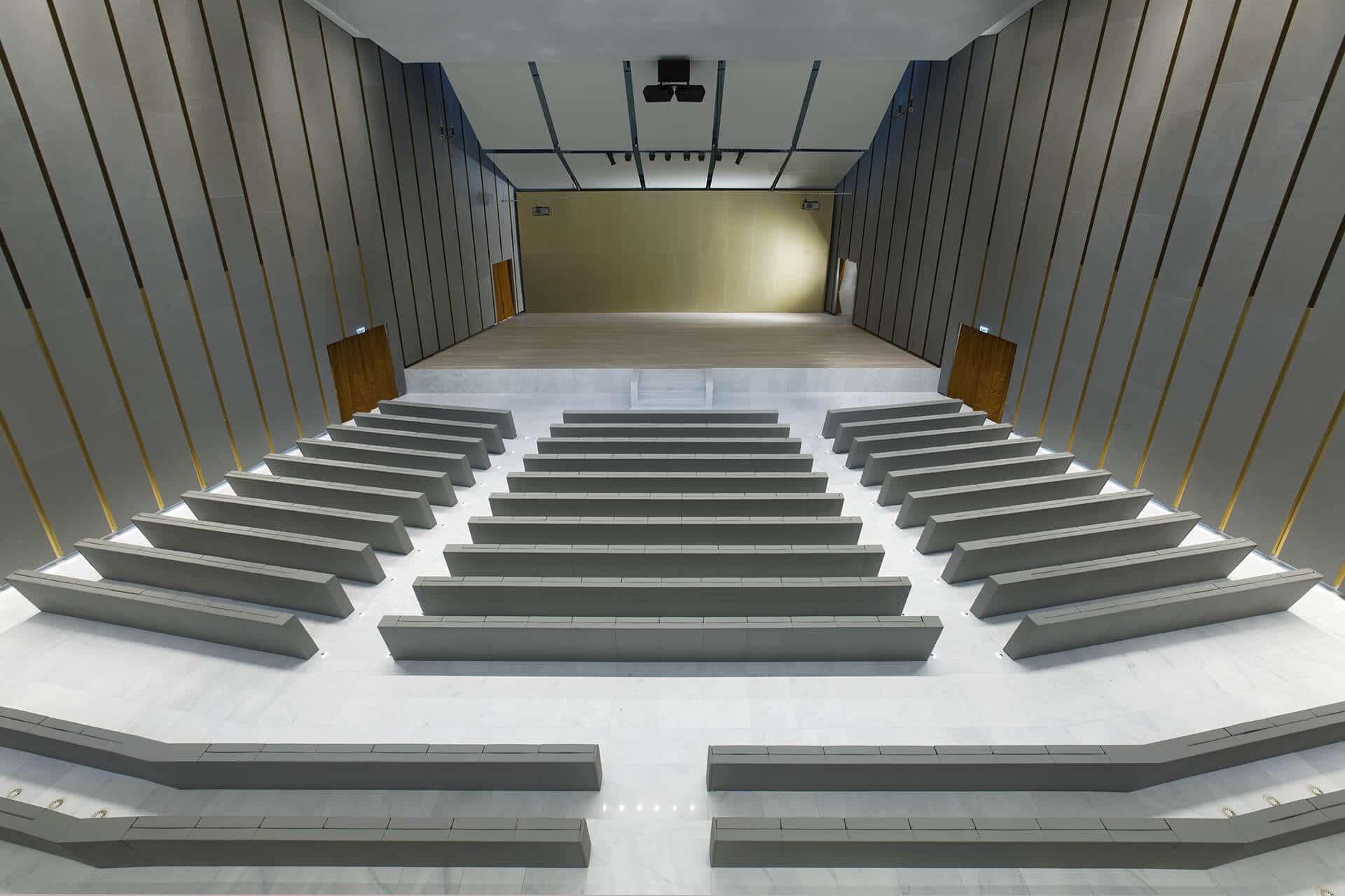 Universita Bocconi Milano GENYA Armchair By LAMM 3