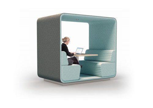 Conceptual Cabin Booth