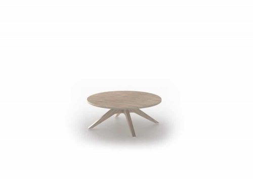 coffee table round woodbase CT CWB 080 0 0 1
