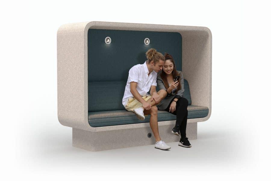 conceptual cabin sofa