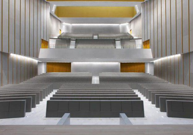 Universita Bocconi Milano GENYA Armchair By LAMM 1 1 e1565682020457